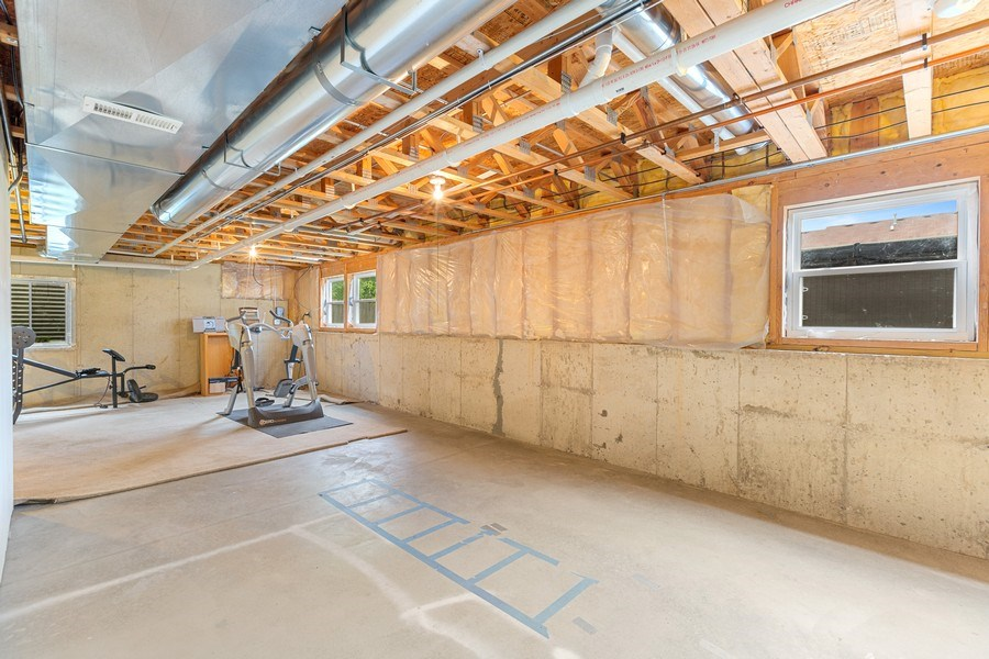 Real Estate Photography - 310 Kennedy Drive, Antioch, IL, 60002 - Basement