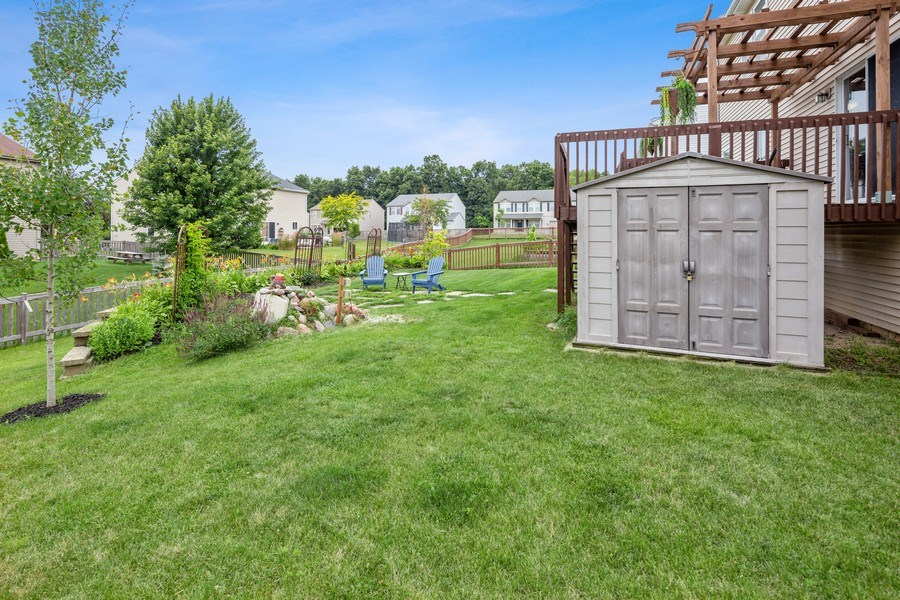 Real Estate Photography - 310 Kennedy Drive, Antioch, IL, 60002 - Back Yard