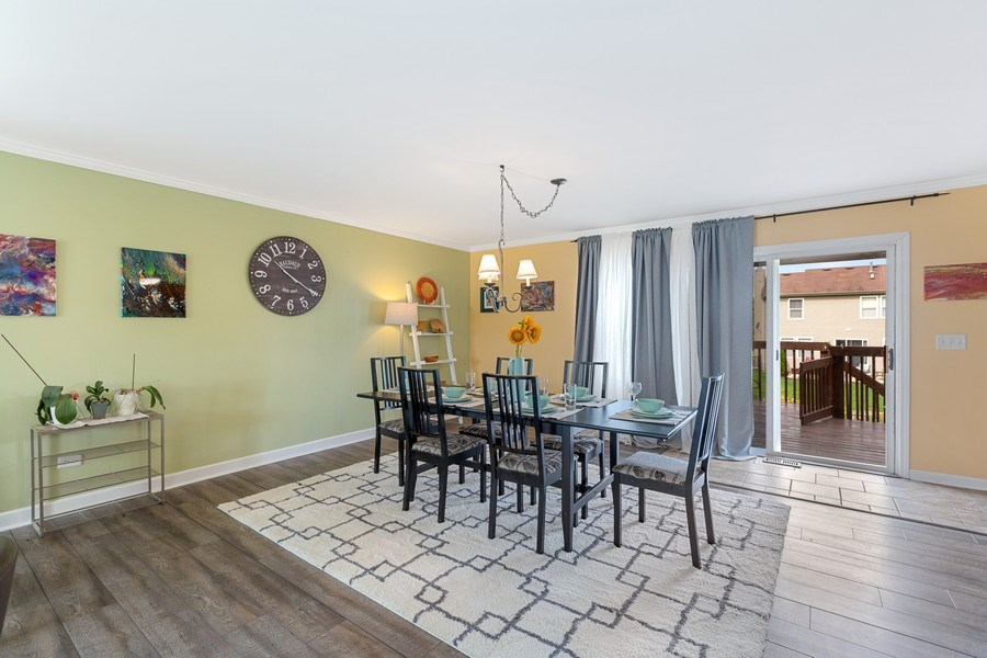 Real Estate Photography - 310 Kennedy Drive, Antioch, IL, 60002 - Dining Room