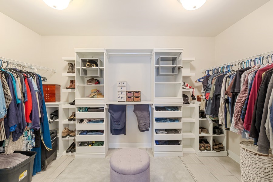 Real Estate Photography - 310 Kennedy Drive, Antioch, IL, 60002 - Master Bedroom Closet