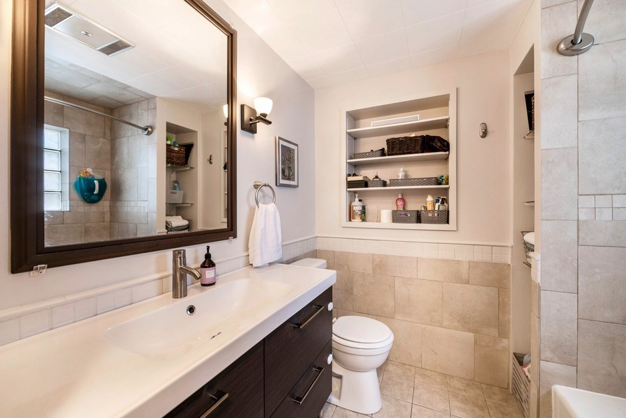 Real Estate Photography - 2748 OAK PARK Avenue, Berwyn, IL, 60402 - Master Bathroom