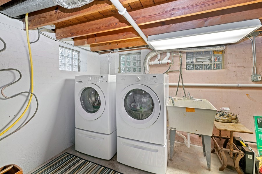 Real Estate Photography - 2748 OAK PARK Avenue, Berwyn, IL, 60402 - Laundry Room