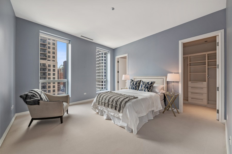 Real Estate Photography - 30 W. OAK Street, Unit 11B, Chicago, IL, 60610 - 2nd Bedroom