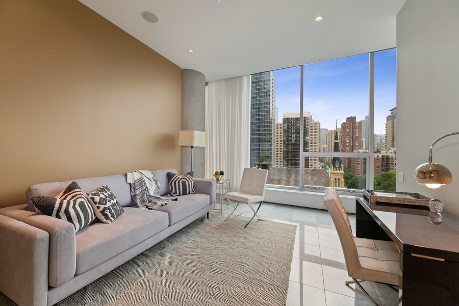Real Estate Photography - 30 W. OAK Street, Unit 11B, Chicago, IL, 60610 - 3rd Bedroom/Office