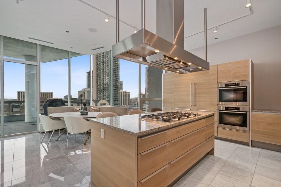 Real Estate Photography - 30 W. OAK Street, Unit 11B, Chicago, IL, 60610 - Kitchen