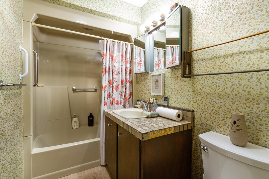 Real Estate Photography - 27 W. Shore Drive, Grayslake, IL, 60030 - Bathroom