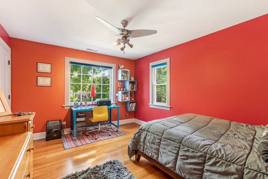Real Estate Photography - 1927 Lincoln Street, Evanston, IL, 60201 - 3rd Bedroom (Upstairs)