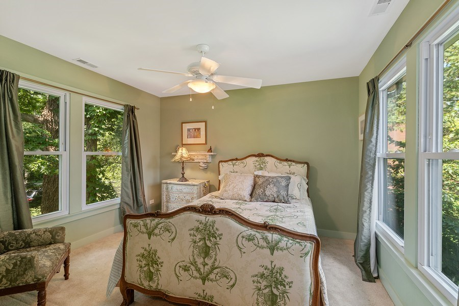 Real Estate Photography - 1927 Lincoln Street, Evanston, IL, 60201 - 4th Bedroom (Upstairs)