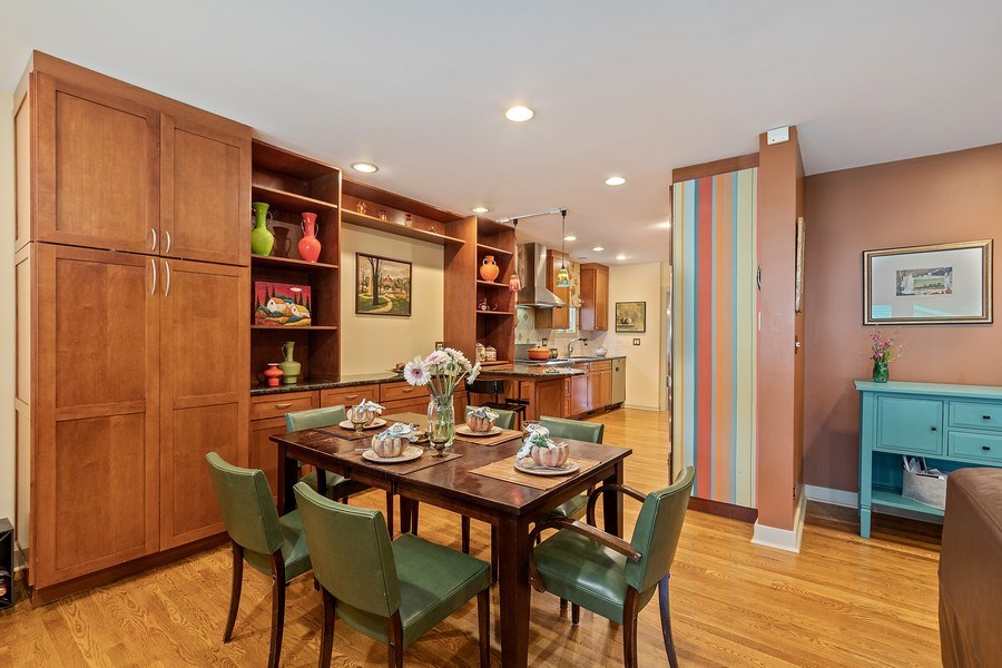 Real Estate Photography - 1927 Lincoln Street, Evanston, IL, 60201 - Eat-in Kitchen / Pantry