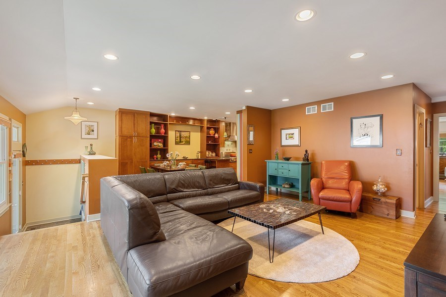 Real Estate Photography - 1927 Lincoln Street, Evanston, IL, 60201 - Great Room with Outside Access/ Rear Mud Room