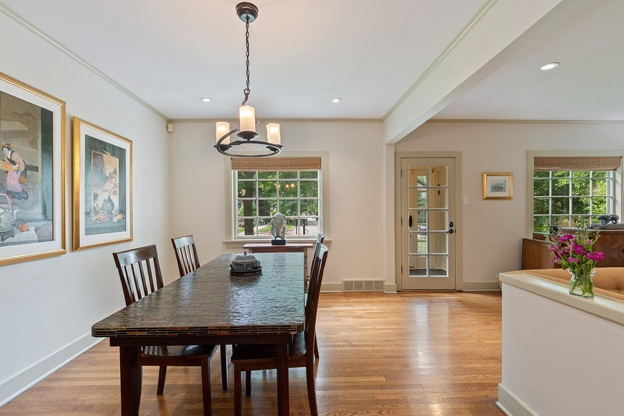 Real Estate Photography - 1927 Lincoln Street, Evanston, IL, 60201 - Dining Room
