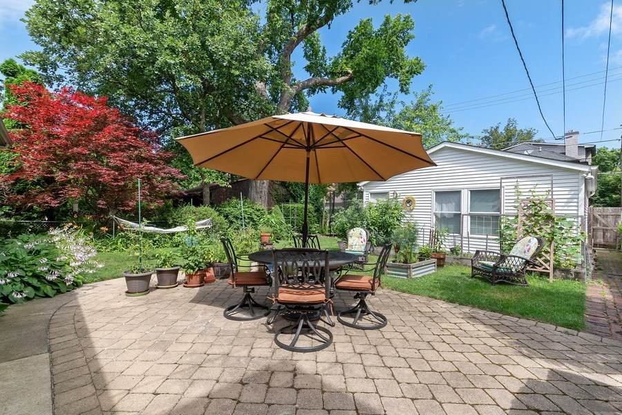 Real Estate Photography - 1927 Lincoln Street, Evanston, IL, 60201 - Backyard Patio
