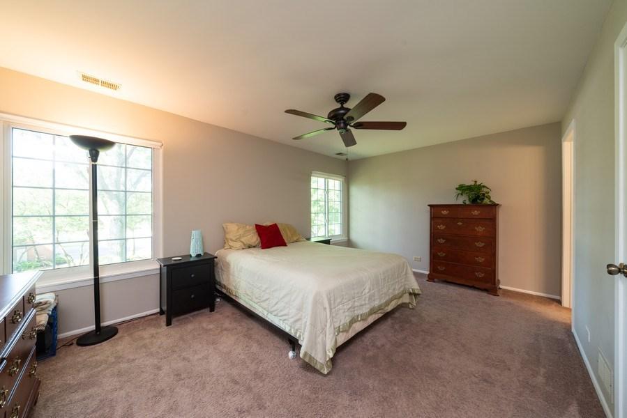 Real Estate Photography - 30W028 Juniper Court, Unit 028, Warrenville, IL, 60555 - Master Bedroom