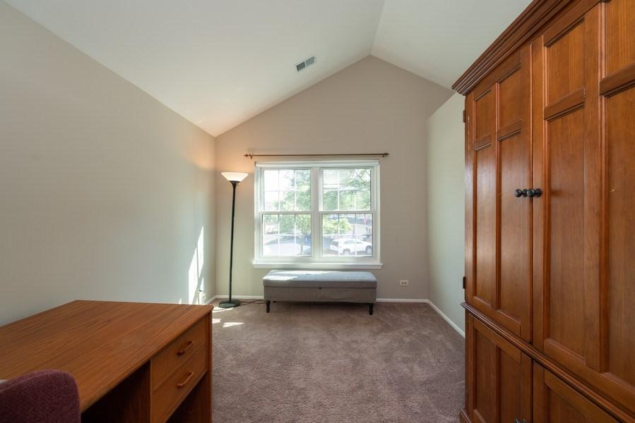 Real Estate Photography - 30W028 Juniper Court, Unit 028, Warrenville, IL, 60555 - Den
