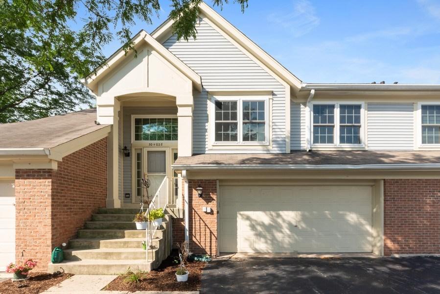 Real Estate Photography - 30W028 Juniper Court, Unit 028, Warrenville, IL, 60555 - Front View