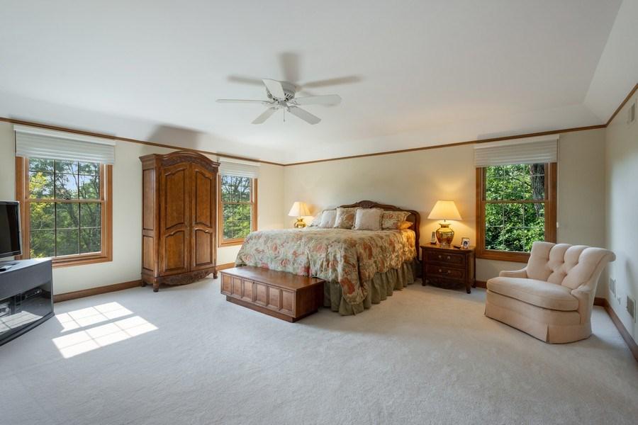 Real Estate Photography - 155 HAVERTON WAY, North Barrington, IL, 60010 - Master Bedroom