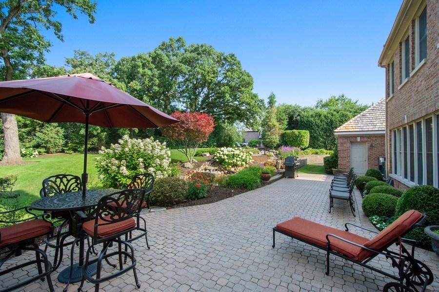 Real Estate Photography - 155 HAVERTON WAY, North Barrington, IL, 60010 - Patio