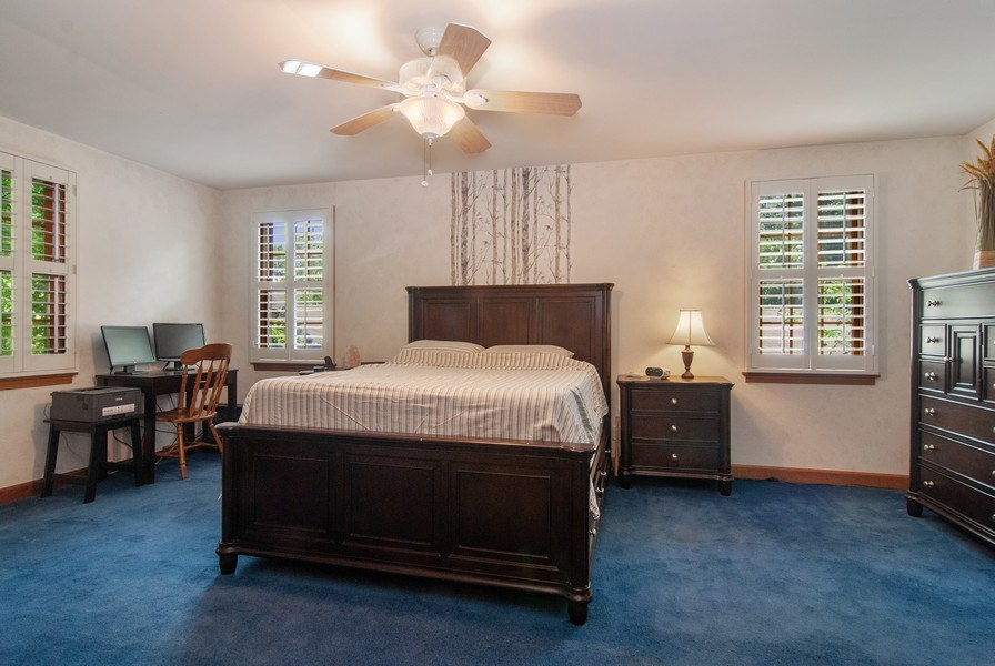 Real Estate Photography - 1140 Pine Court, Batavia, IL, 60510 - Master Bedroom