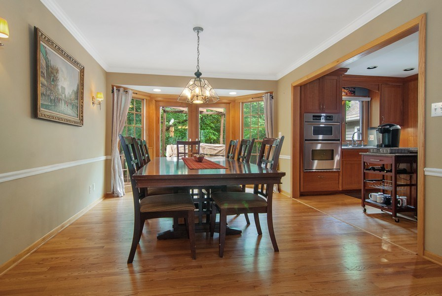 Real Estate Photography - 1140 Pine Court, Batavia, IL, 60510 - Dining Room