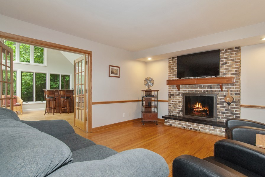 Real Estate Photography - 1140 Pine Court, Batavia, IL, 60510 - Family Room