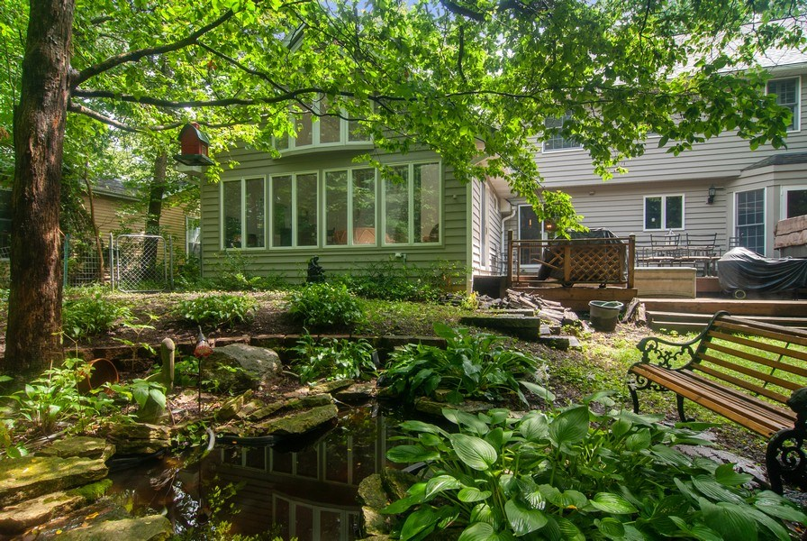 Real Estate Photography - 1140 Pine Court, Batavia, IL, 60510 - Rear View