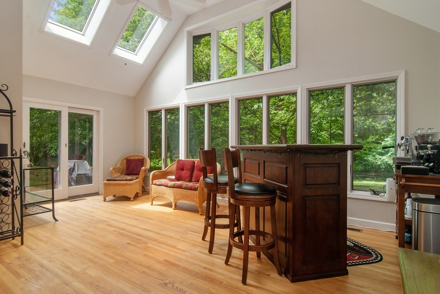 Real Estate Photography - 1140 Pine Court, Batavia, IL, 60510 - Sunroom