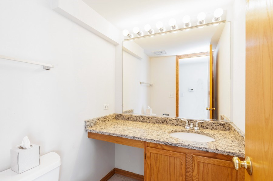 Real Estate Photography - 2563 North Augusta Dr, Wadsworth, IL, 60083 - Powder Room
