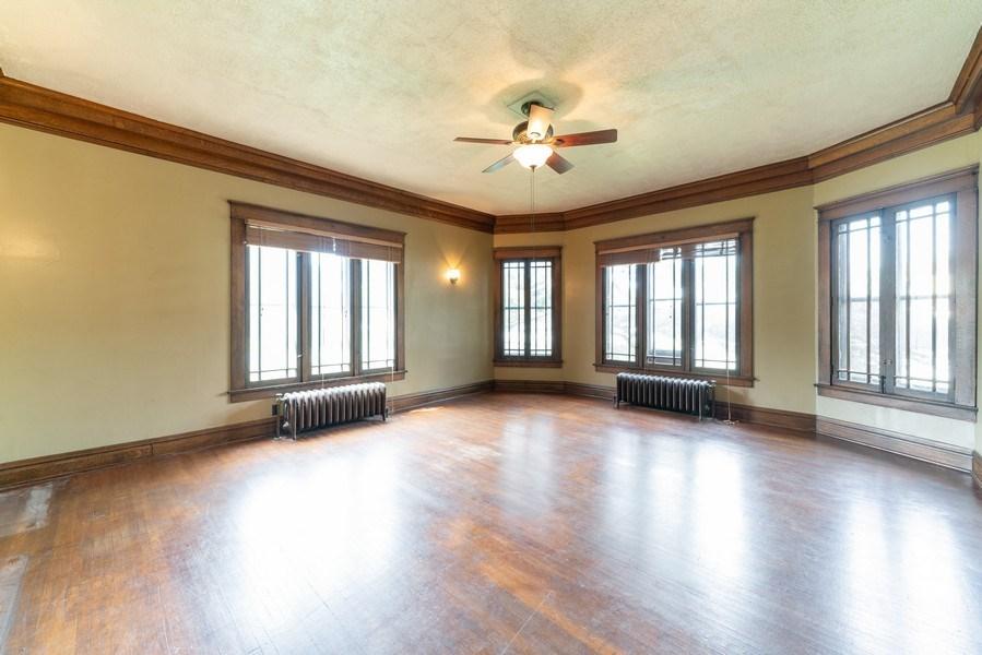 Real Estate Photography - 449 N. Lake Street, Aurora, IL, 60506 - Living Room