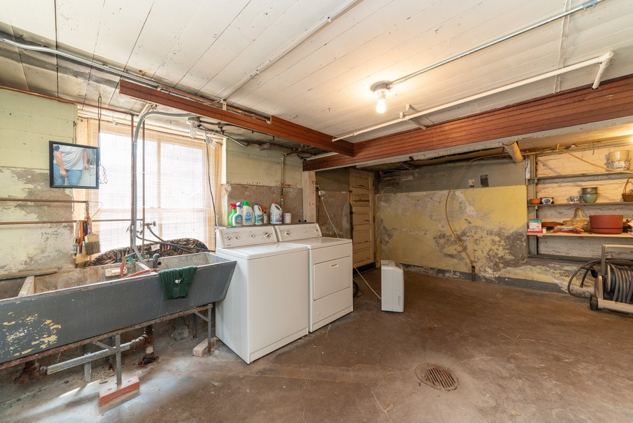 Real Estate Photography - 449 N. Lake Street, Aurora, IL, 60506 - Laundry Room