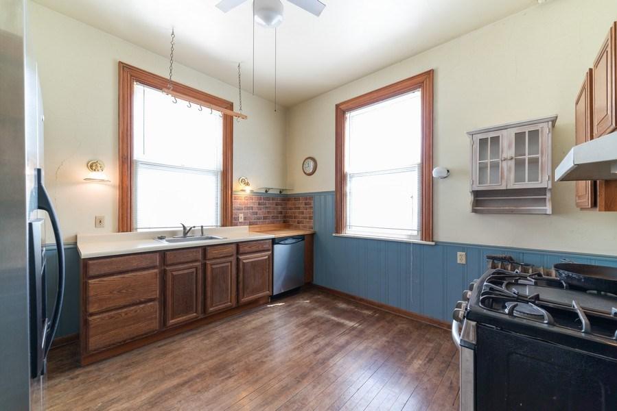 Real Estate Photography - 449 N. Lake Street, Aurora, IL, 60506 - Kitchen