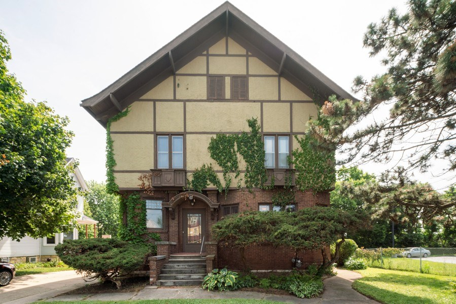 Real Estate Photography - 449 N. Lake Street, Aurora, IL, 60506 - Front View
