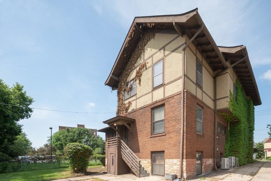 Real Estate Photography - 449 N. Lake Street, Aurora, IL, 60506 - Rear View