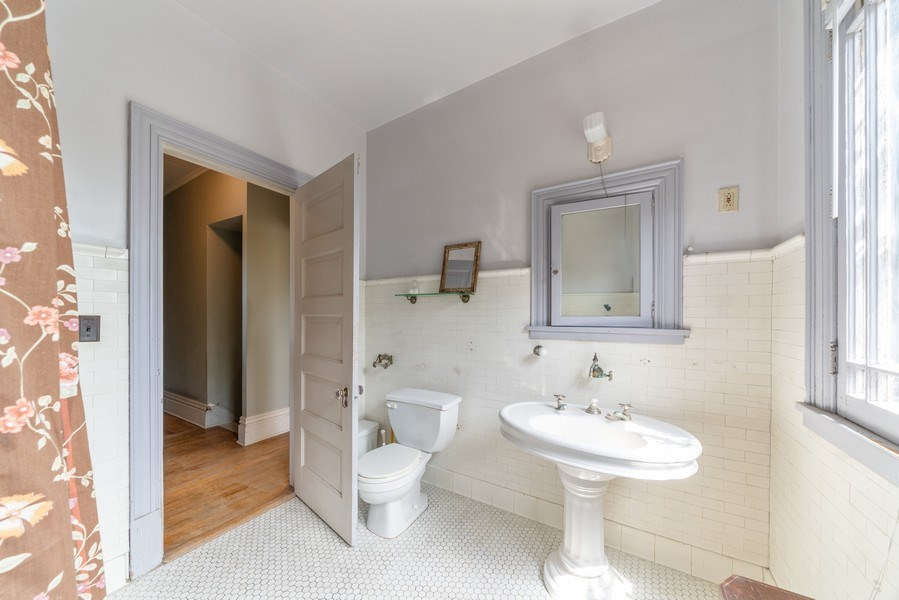 Real Estate Photography - 449 N. Lake Street, Aurora, IL, 60506 - Bathroom