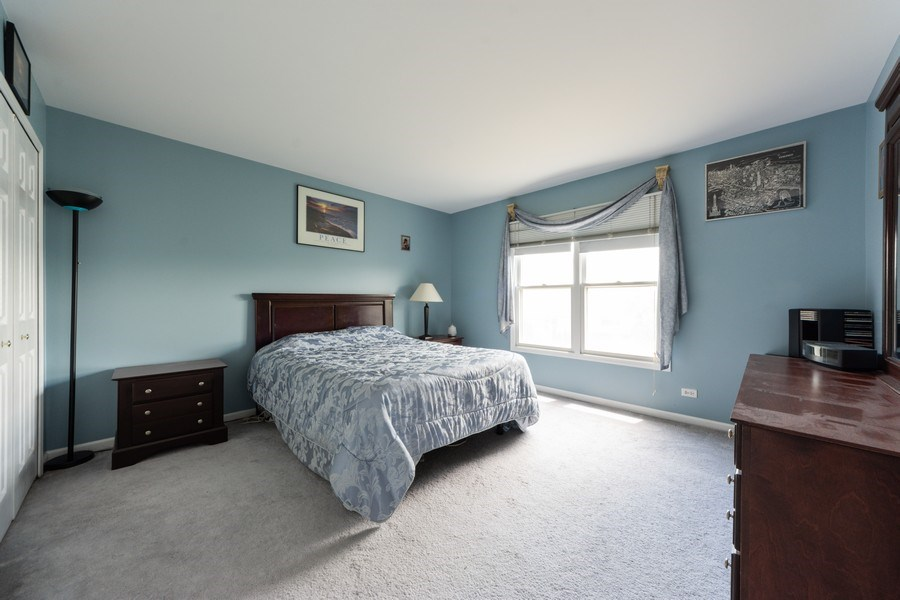 Real Estate Photography - 5255 Morningview Drive, Hoffman Estates, IL, 60192 - 2nd Bedroom