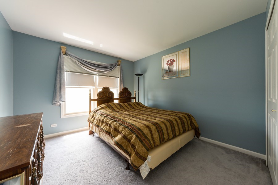 Real Estate Photography - 5255 Morningview Drive, Hoffman Estates, IL, 60192 - 4th Bedroom