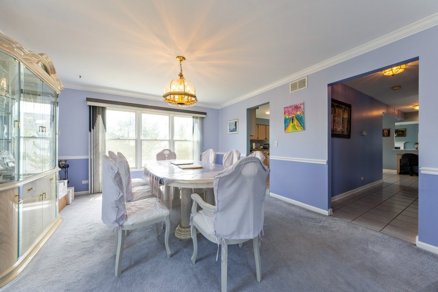 Real Estate Photography - 5255 Morningview Drive, Hoffman Estates, IL, 60192 - Dining Room