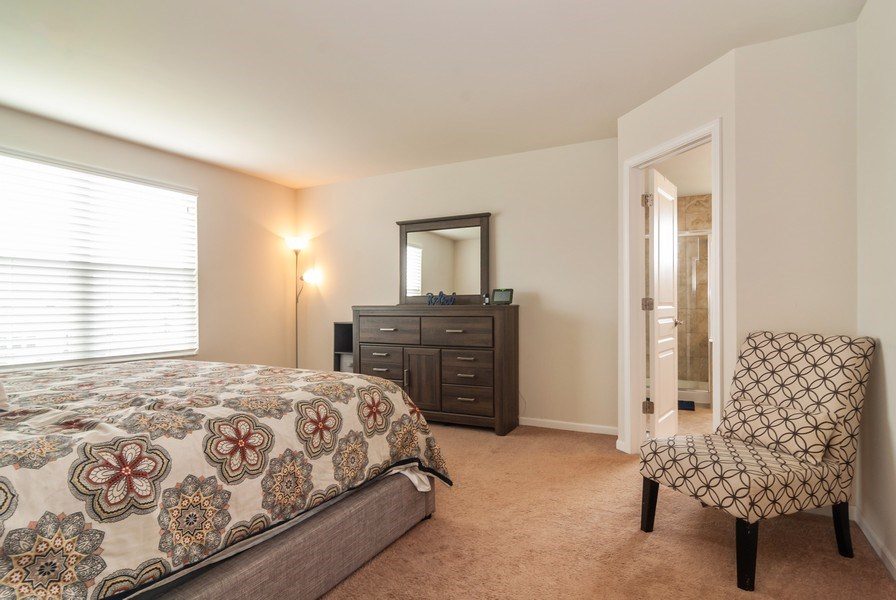 Real Estate Photography - 1423 RUBY Drive, Yorkville, IL, 60560 - Master Bedroom