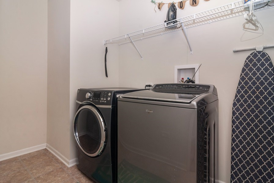 Real Estate Photography - 1423 RUBY Drive, Yorkville, IL, 60560 - Laundry Room