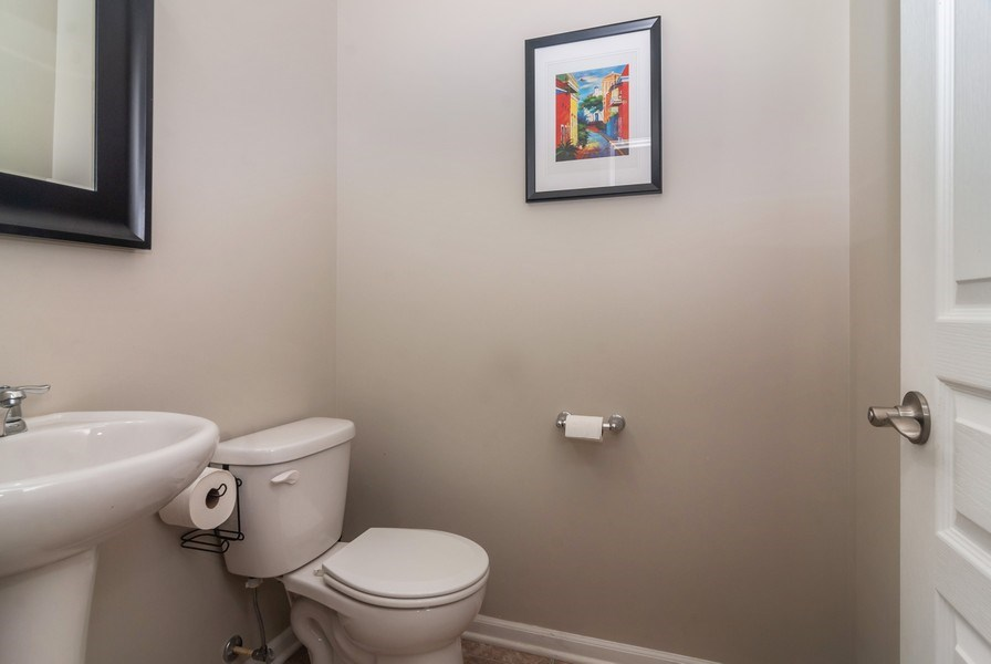 Real Estate Photography - 1423 RUBY Drive, Yorkville, IL, 60560 - Bathroom