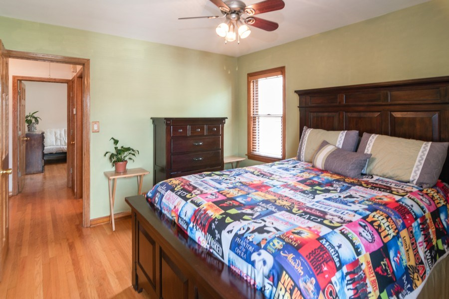 Real Estate Photography - 3625 Harvey Avenue, Berwyn, IL, 60402 - Master Bedroom
