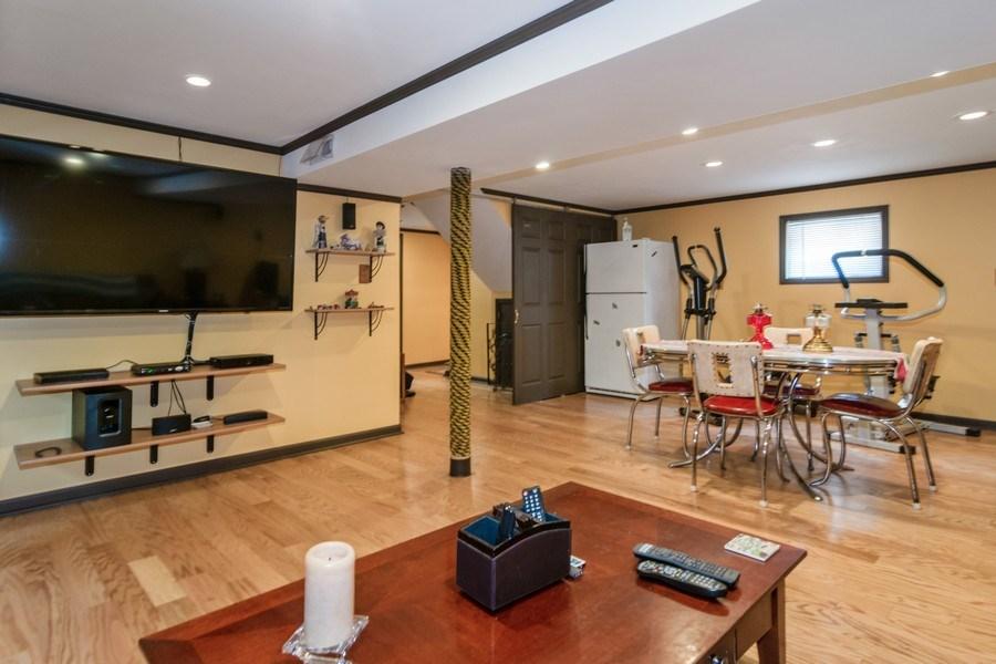 Real Estate Photography - 3625 Harvey Avenue, Berwyn, IL, 60402 - Family Room