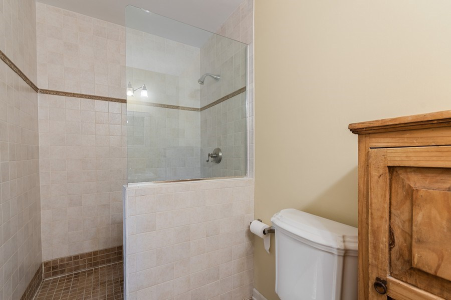 Real Estate Photography - 120 E. Bauer Road, Naperville, IL, 60563 - Master Bathroom