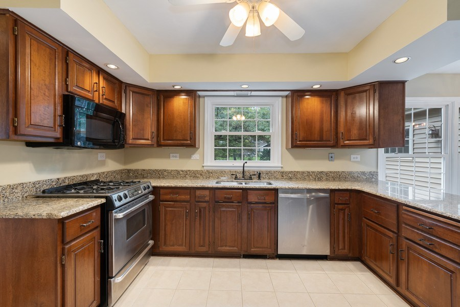 Real Estate Photography - 120 E. Bauer Road, Naperville, IL, 60563 - Kitchen