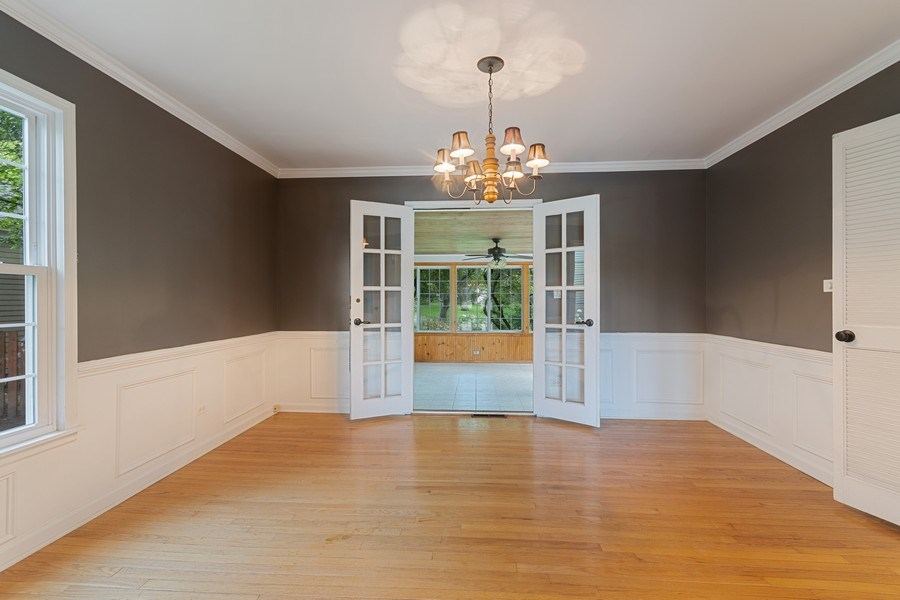 Real Estate Photography - 120 E. Bauer Road, Naperville, IL, 60563 - Dining Room