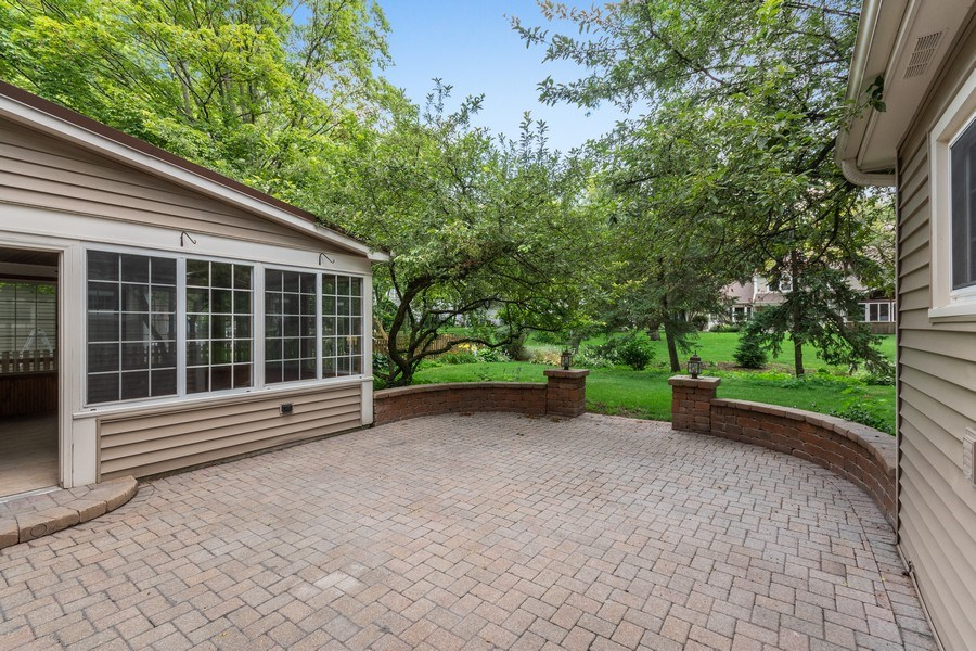 Real Estate Photography - 120 E. Bauer Road, Naperville, IL, 60563 - Back Yard