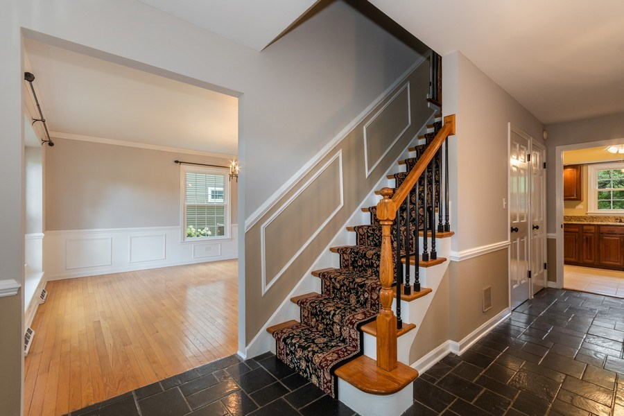 Real Estate Photography - 120 E. Bauer Road, Naperville, IL, 60563 - Foyer