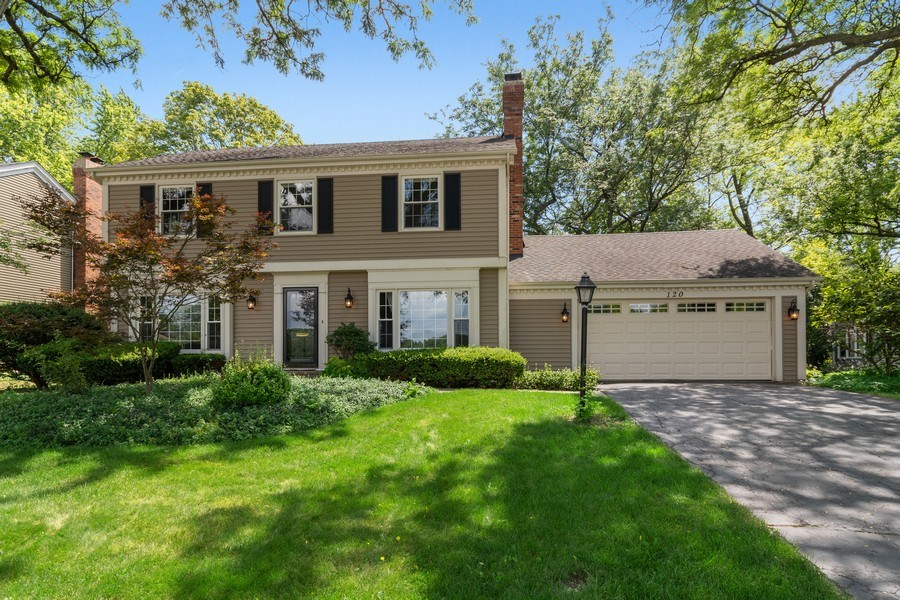 Real Estate Photography - 120 E. Bauer Road, Naperville, IL, 60563 - Front View