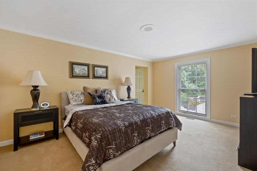 Real Estate Photography - 663 Circle Ln, Lake Forest, IL, 60045 - Guest Bedroom
