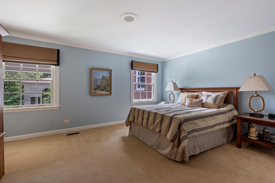 Real Estate Photography - 663 Circle Ln, Lake Forest, IL, 60045 - 3rd Bedroom