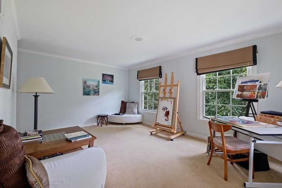 Real Estate Photography - 663 Circle Ln, Lake Forest, IL, 60045 - 4th Bedroom